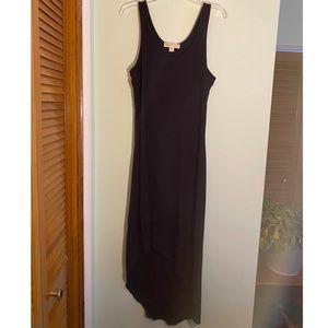 Michael Kors Asymmetrical Dress Black